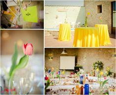 Decoración boda (Photo by Kari Bellamy Photography)
