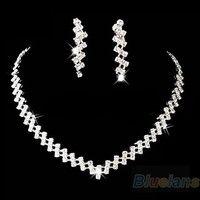 I think you'll like Bridal Wedding Prom Jewelry Crystal Rhinestone Diamante Necklace & Earring Set. Add it to your wishlist!  http://www.wish.com/c/53cc26bdce18e70efee603cb