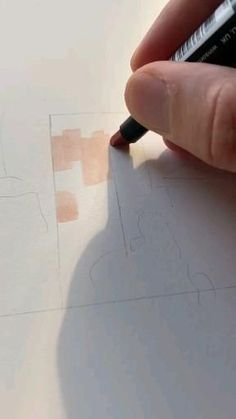 Marker Art, Marker Drawings, Art Drawings Sketches Simple, Diy Canvas Art, Art Sketchbook, Art Techniques, Art Tutorials, Diy Art, Art Lessons