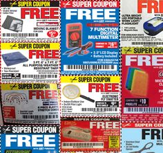 The best Harbor Freight coupons, at your fingertips. Harbor Freight Coupon, Harbor Freight Tools, Free Coupons Online, Moving Blankets, Welding Shop, Light Flashlight, Small Engine, Work Lights, Hacks Diy