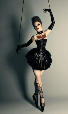 Plastic Series: Broken Marionette by Rebeca Puebla