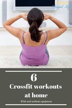 These WOD are so easy to do as many days as I can each week. You should try out these 6 crossfit workouts at home for beginners! These WOD can be done with or without equipment. Includes tips on how to start crossfit at home as well! Insanity Workout, Best Cardio Workout, Workout Plans, Exercise Plans, Workout Fitness, Crossfit Workouts At Home, Easy Workouts, Tabata, Cross Training For Runners