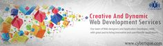 #Web #Development – Cyberique is a professional #Web #Development company in India that provides outsource services. Get free quote today. We have satisfied customers. See more:  http://www.cyberique.com/web-development-service.php
