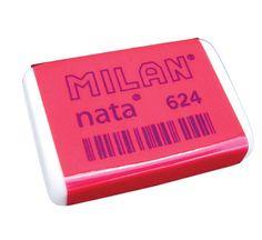 La goma de borrar Milan Nata,puedo recordar el olor con sólo cerrar los ojos