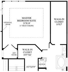 Best Master Bedroom Floor Plans With Bathroom Ideas Master 400 x 300