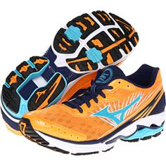 Mizuno Wave® Rider™ 16 - Blazing Orange!
