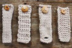 DIY Button Cuff for Infinity Scarf | simplymaggie.com