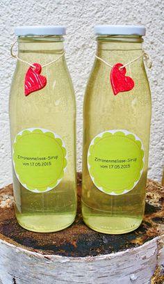 Zitronenmelissen-Sirup von Seifenliebe...rostet nicht ♥