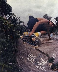 steve caballero  wallows air bowl '86 hawaii  @steviecab  @equaldist  @skateboard_ojisan by markoblow