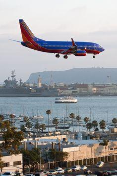Southwest Airlines - Boeing 737-7H4 (N467WN) - San Diego