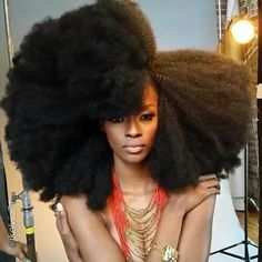 My dream hair Natural Hair, Hair Inspiration, Afro, Black Girl Big Natural Hair, Pelo Natural, Natural Hair Styles, Natural Girls, Ombré Hair, Big Hair, American Hairstyles, Black Women Hairstyles, Pelo Afro