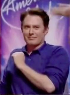That famous mike grab by Clay Aiken