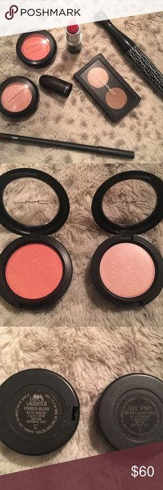NWOB Mac makeup bundle NWOB MAC makeup. Was sold as a set, with limited edition colors. None of the items have been used. See photo for color and item descriptions. MAC Cosmetics Makeup