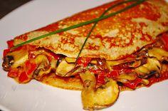 Buchweizen-Sesam-Pfannkuchen mit cremiger Champignon- und Paprikafüllung, ein sehr leckeres Rezept mit Bild aus der Kategorie Braten. 10 Bewertungen: Ø 3,9. Tags: Braten, Ei, Gemüse, Hauptspeise, Mehlspeisen, Pilze, Vegetarisch