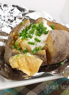 Did you know you can make baked potatoes in your slow cooker?