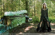 Second Nature spread, Vogue UK Nov 2006 [Photographer: Corrine Day]