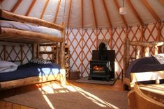 Yurt at the Tennessee Pass Cookhouse and Nordic Center