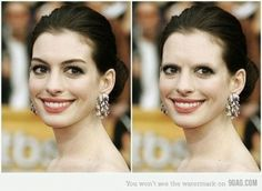 THIS FREAKS ME OUT SO BADLY!!!!  It's why I can't handle super blonde invisible eyebrows.