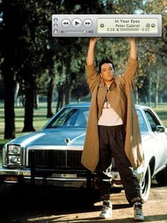 John Cusack - Say Anything - quicktime player