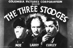 Three Stooges Credit Television Sheet Moe Larry Curley Fun Comedy Poster Print