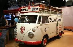 Becks Beer Bus
