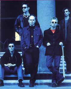 #Radiohead - Oxford, 1995 - By Paul Spencer
