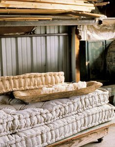 french mattress cushion for bench seating - Google Search