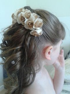29 Super Cute Hairstyles for Teenage Girls - Page 15 of 29 - Lead Hairstyles Super Cute Hairstyles, Cute Girls Hairstyles, Flower Girl Hairstyles, Different Hairstyles, Popular Hairstyles, Trendy Hairstyles, Wedding Hairstyles, Communion Hairstyles, Toddler Hair