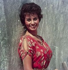"Sophia Loren for ""Legend Of The Lost,"" 1957."