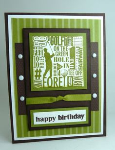 via Michelle's Stamping Blog - might have to do this for the hubby