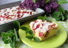 Ciasto ucierane z rabarbarem - DoradcaSmaku - ten przepis cieszy się popularnością, sprawdź. Avocado Toast, French Toast, Cooking, Breakfast, Food, Recipes, Kitchen, Morning Coffee, Essen