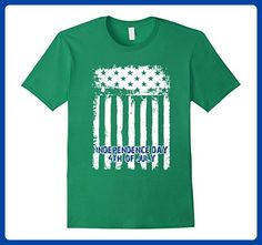6fb43d5a8 Mens Happy Independence Day 4th of July T-Shirt Small Kelly Green - Holiday  and seasonal shirts (*Amazon Partner-Link)