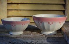 @ Vintage French Cafe au Lait Bowls