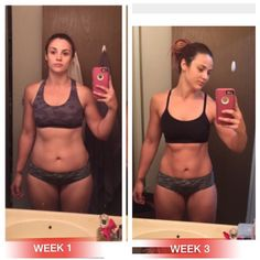 """Loving this crazy 3 week update by client @missya217 !!!! Straight killing it!!! Losing inches on the waist and getting hose SLBA """"sexy lines by Ablab""""!!!! I can't wait to see what she looks like in week 6!!!! For results like this to keep you motivated and wanting more, email me today for my 12 week carb cycling diet and workout program Xavi@teamablab.com  Use code BBA20 for 20% off 1upnutrition.com. ULTIMATE MALE AND FEMALE STACK or any other product"""