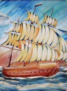 """MK aplicirano """"brod na moru""""-brod na moru naljepka udžbenik - majstorske tečajeve na kolač uređenja kolač uređenja Udžbenici (Kako je) Tortas ..."""