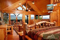 Blackbeary Cobbler... a vacation rental cabin in Gatlinburg that is better than dessert! http://www.jacksonmountainhomes.com