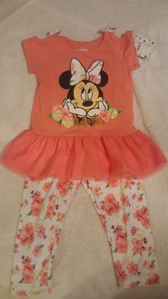 5db901bb388 Disney Minnie Mouse Shirt Pant Set Girls Size 6  fashion  clothing  shoes   accessories  kidsclothingshoesaccs  girlsclothingsizes4up (ebay link)