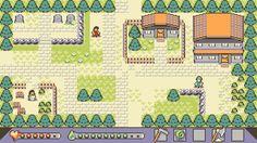 8 Colour GBC-Inspired Mockup League Of Legends, Cool Pixel Art, Pokemon, 8 Bit Art, 8 Bits, Pixel Art Games, Isometric Design, Color Games, Fantasy Map