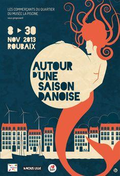 AUTOUR D'UNE SAISON DANOISE by ALAIN BOSSUYT, via Behance