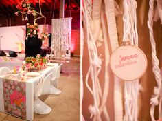 The Cream Event, by Sitting in a Tree, Neon Modern Kitschy Brunch Mock-up
