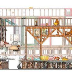 Izaskun Chinchilla /// Sala Vip ARCO2016 @ Madrid Sala Vip, Recycling, Architecture, Drawings, Madrid, Diagram, Pop, Inspiration, Arquitetura