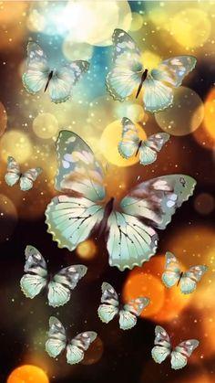 Blue Butterfly Wallpaper, Colourful Wallpaper Iphone, Wallpaper Nature Flowers, Fairy Wallpaper, Bubbles Wallpaper, Butterfly Wallpaper Iphone, Galaxy Wallpaper Iphone, Phone Wallpaper Images, Beautiful Flowers Wallpapers