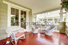 americke domy s verandou - Hľadať Googlom