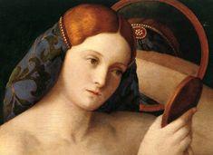 Femme à sa toilette - Giovanni Bellini -1515- Détail