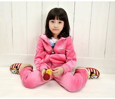 Aliexpress.com : Buy Autumn Girl's Warm Suit, Solid Velour Set, Girl's High Quality Velvet Long Sleeve Top+Trousers, Free Shipping K0176 from Reliable Girl's Clothing Suit suppliers on SICIBAY - Women's Clothing : Selling for Donating