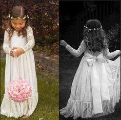 2015-lace-long-sleeve-white-girl-flower-dresses