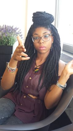 I LOVE Box Braids !: Photo