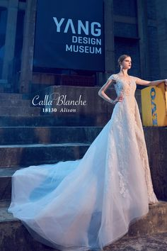 4cf7d39c77e Beautiful Call Blanche wedding dresses available at Alexandra s Boutique.  Book your appointment today by calling
