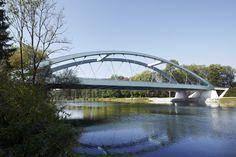 Bridge over the Danube River at Gunzberg, Germany