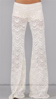 lacy night pants..